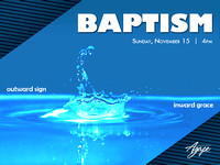 Water Baptism 2015
