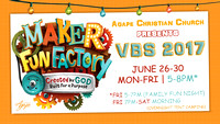 VBS - June 26-30, 2017