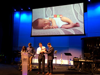 Baby Dedication - Levi Elliot Hinea - May 21, 2017