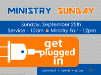 Ministry Sunday & Ministry Fair - September 25, 2016