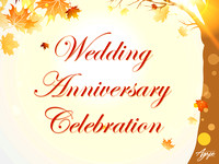 Wedding Anniversary Celebration - October 30, 2016