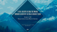 Romanian Churches Alliance Ministers' Conference - November 9-11, 2017